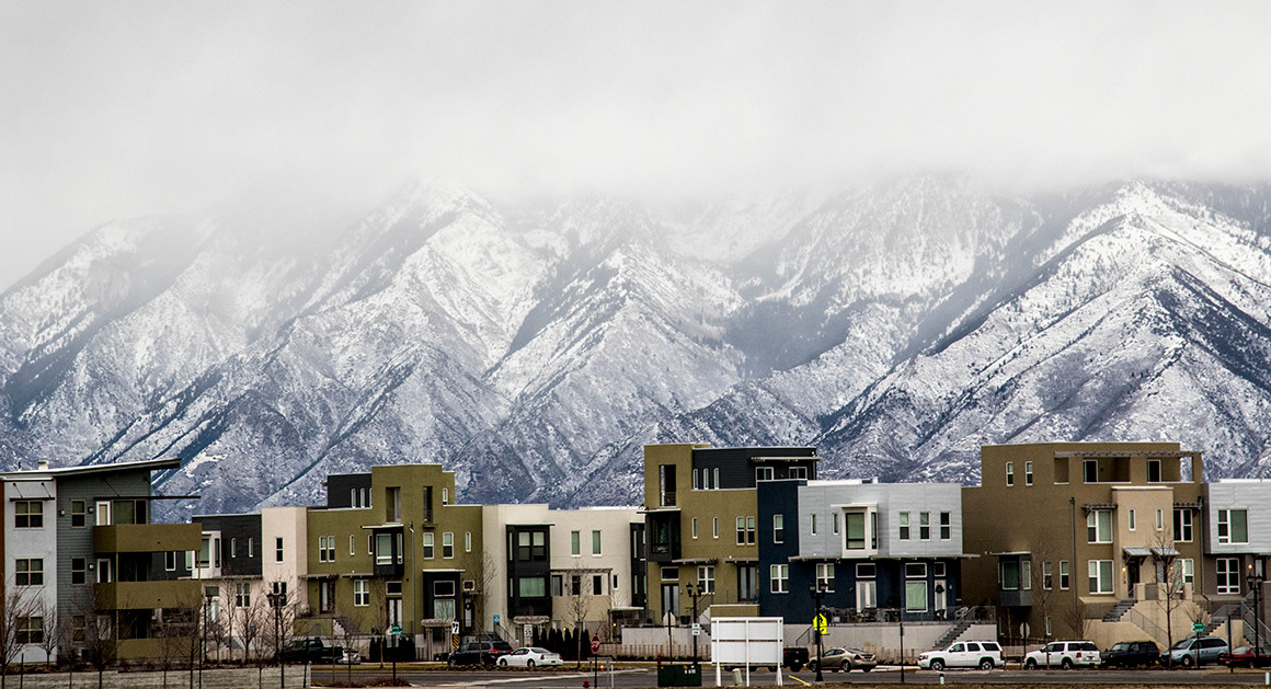 Daybreak, Utah. Source: Mark Peterson/ReduxPictures For Politico Magazine.