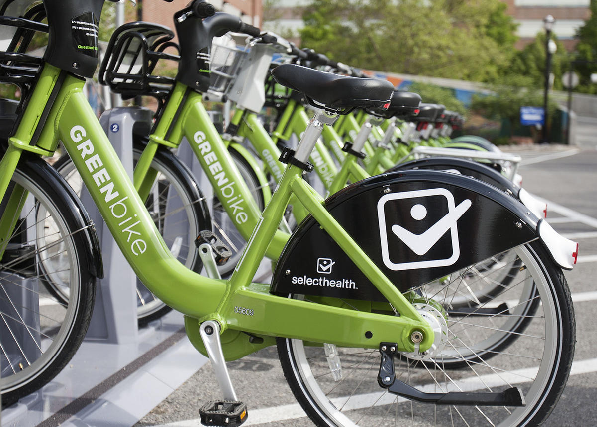GREENbikes In Salt Lake City. Source: Deseret News File.