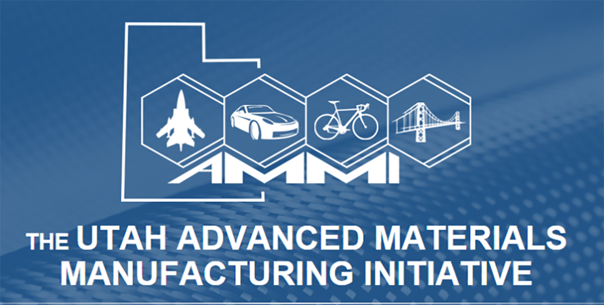 Utah Advanced Materials Manufacturing Initiative logo.