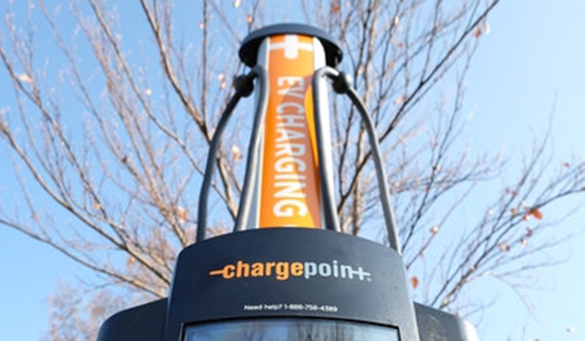 Electric Vehicle Charging Station. Source: The Salt Lake Tribune File.