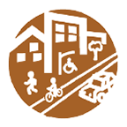 Wasatch Choice Complete Streets tool icon.