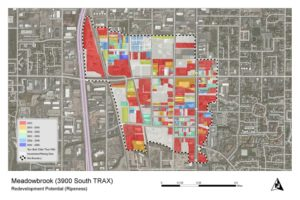 ET+ Redevelopment Candidate; What parcels are ripe for redevelopment now and in the near future?