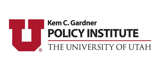 Kem C. Gardner Policy Institute logo.