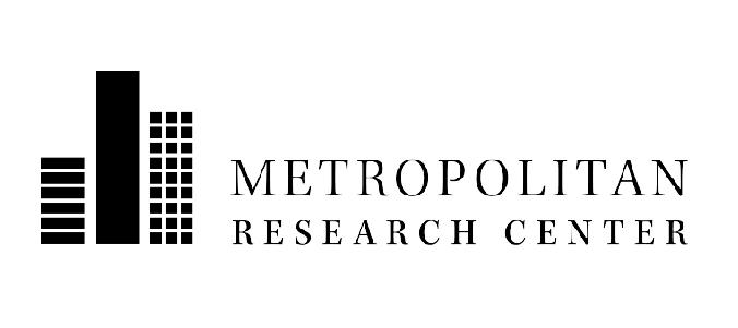 Metropolitan Research Center logo.