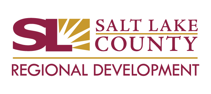 Salt Lake County Regional Development logo.