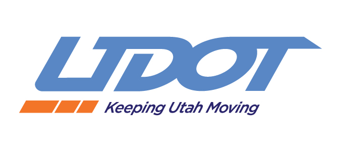 Utah Department of Transportation logo.