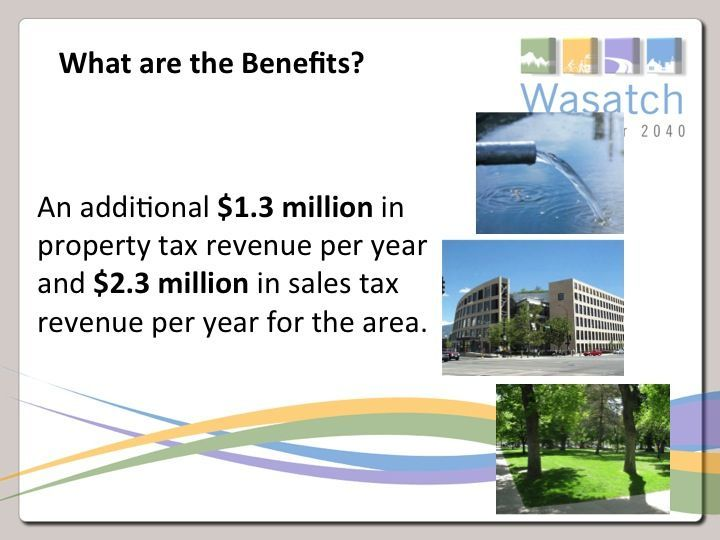 What are the benefits slide.