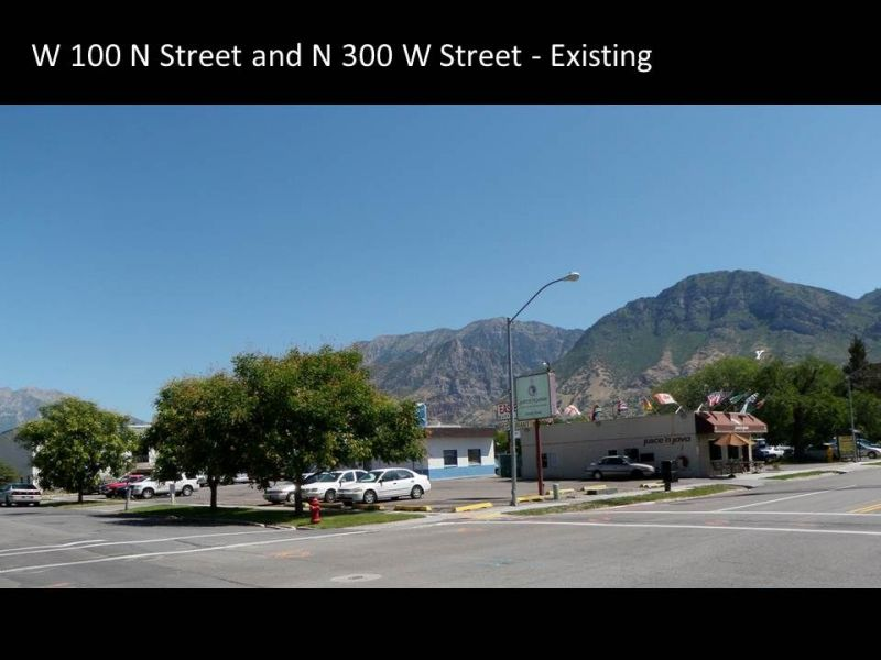 Provo Intermodal Hub visioning two original photo.