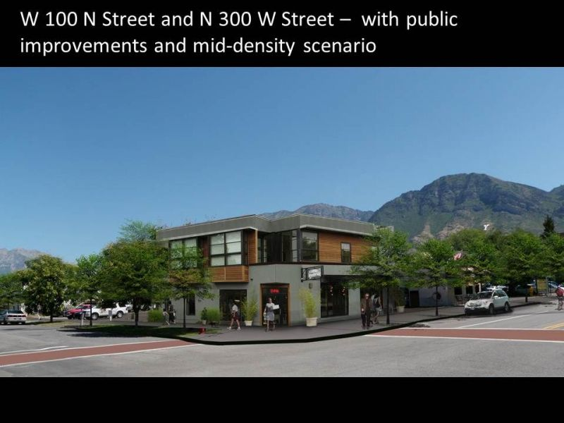 Provo Intermodal Hub visioning two rendering one.