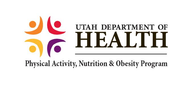 Utah Department of Health logo.