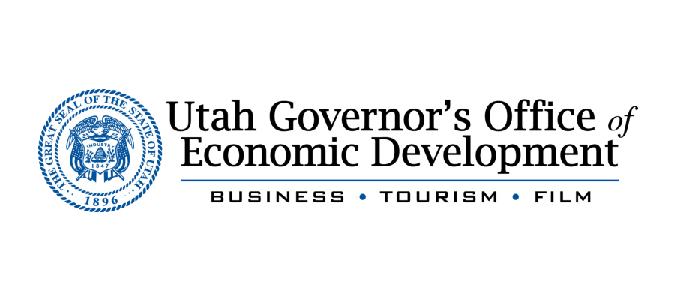 Utah Governor's Office of Economic Development logo.
