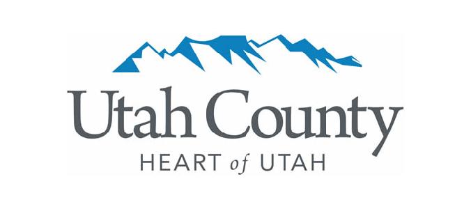 Utah County logo.