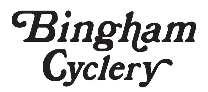 Bingham Cyclery logo.