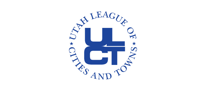 Utah League of Cities and Towns logo.