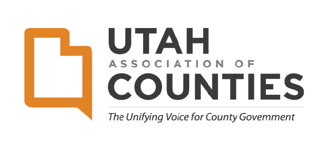 Utah Association of Counties logo.