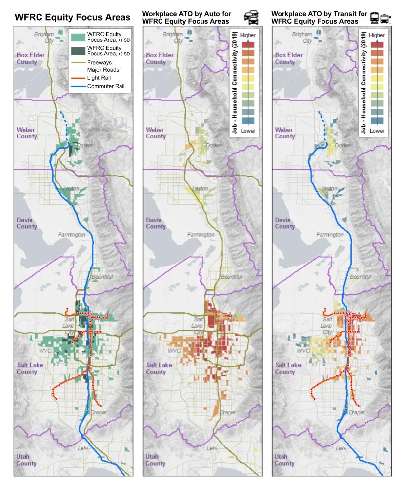 Equity Focus Area Maps