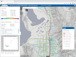 Traffic Volume Map